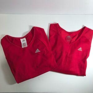 Adidas Long Sleeve T-Shirts (2)